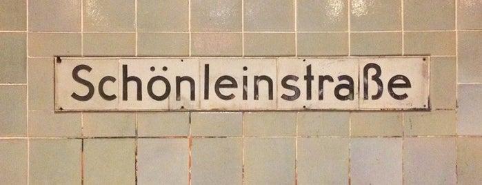 U Schönleinstraße is one of U-Bahn Berlin.