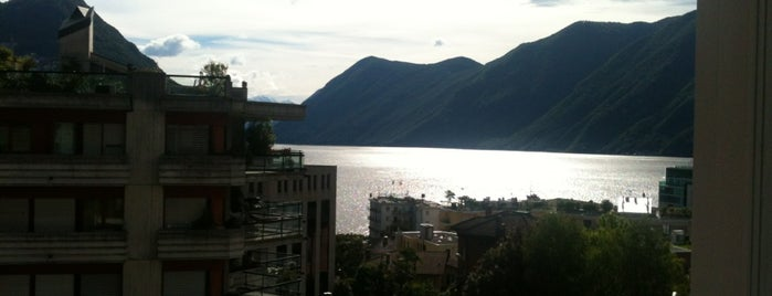 Hotel Delfino is one of Switzerland - Lugano.