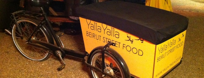 Yalla Yalla Pop-Up is one of Hipster London.