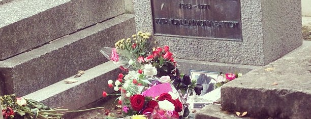 Tombe de Jim Morrison is one of All-time favorites in France.