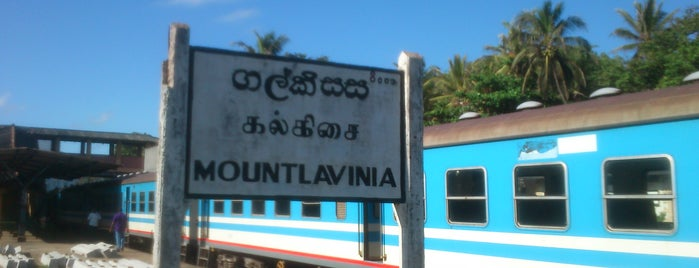 Mount Lavinia Railway Station is one of Railway Stations In Sri Lanka.