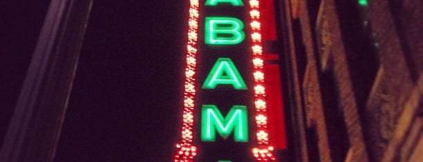 The Alabama Theatre is one of Steel City.