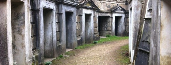 Highgate Cemetery is one of Evermade.com.