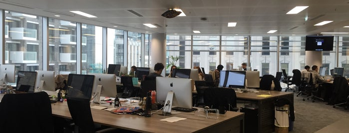 UBER London HQ is one of Tech Trail: London.