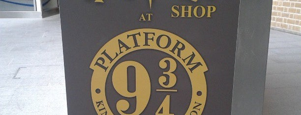 The Harry Potter Shop at Platform 9¾ is one of Places.