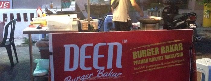 Deen Burger Bakar is one of Makan @ KL #1.