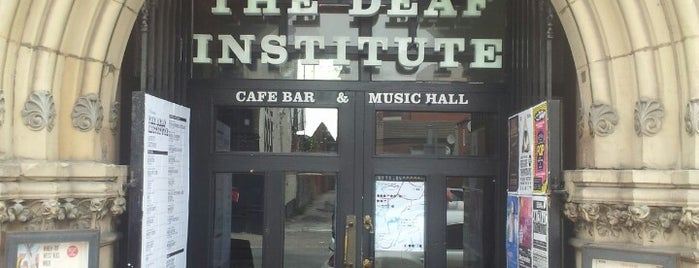 The Deaf Institute is one of Ziggy goes to Manchester.