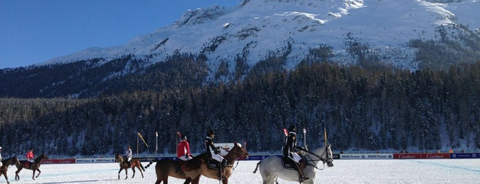 St. Moritz Snow Polo World Cup is one of Ritzy Glitzy St. Moritz.