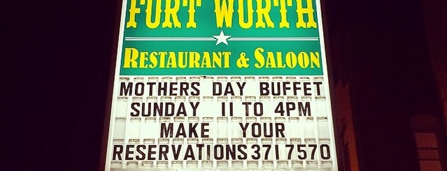 Fort Worth Restaurant is one of Our Partners.