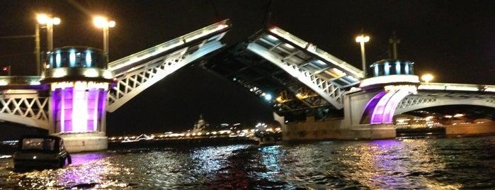 Благовещенский мост is one of SPB.