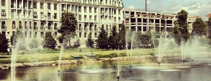 Парк «Чёрное озеро» is one of казан.