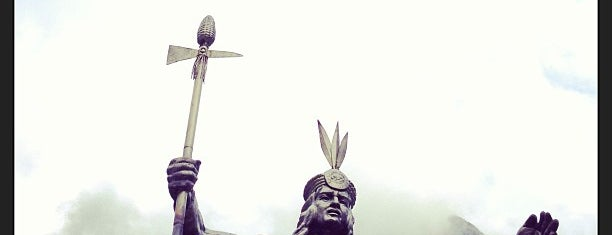 Plaza de Armas de Aguas Calientes is one of Plan Semana en Cusco.