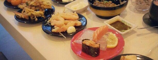 Sakae Sushi is one of Thai Vietnamesich und Japanisch.