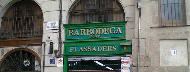 Bar Flassaders is one of Per fer un aperitiu.