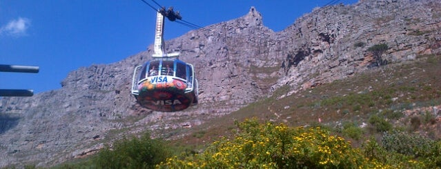 Table Mountain Aerial Cableway is one of Cape Town.