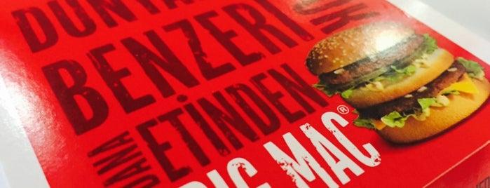 McDonald's is one of Gezintii.