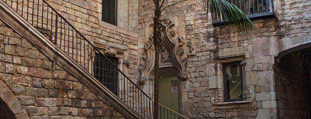 Picasso Museum is one of bcn.