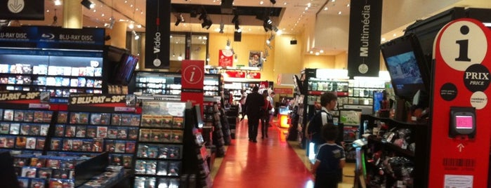 Virgin Megastore Louvre is one of Libraries and Bookshops.