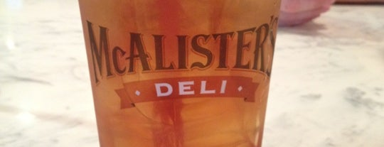 McAlister's Deli is one of BTown.