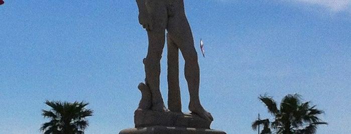 Statue de David is one of Marseille.