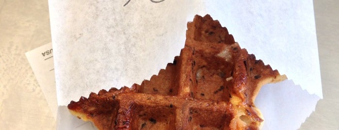 Suite Foods Waffle Shop is one of SF to do.