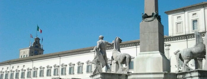 Piazza del Quirinale is one of Rome.