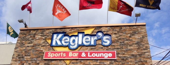 Kegler's Sports Bar & Lounge is one of The Best Wings in Every State (D.C. included).