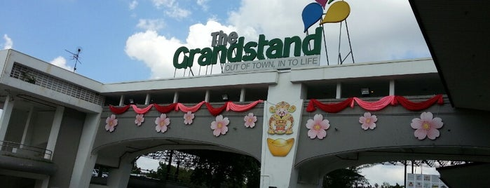 The Grandstand is one of Shops & Malls & Places.