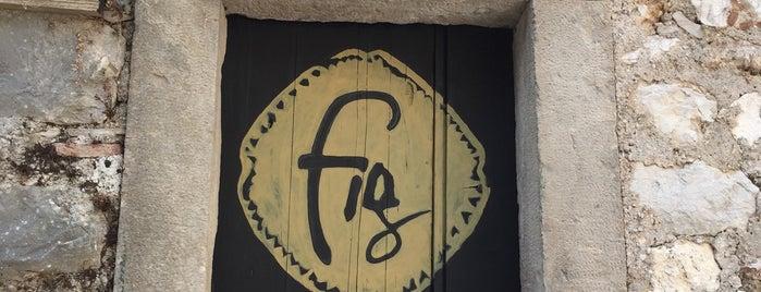 Fig Cafe is one of Hvar.