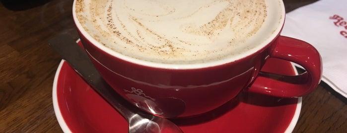 Brooks Brothers Red Fleece Café is one of Espresso - Manhattan < 23rd.
