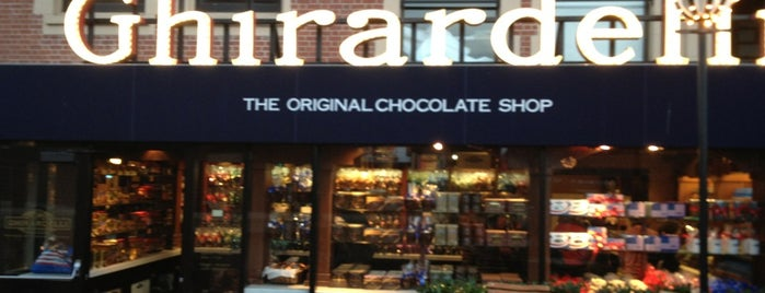 Ghirardelli Chocolate Marketplace is one of Must-visit Ice Cream Shops in San Francisco.