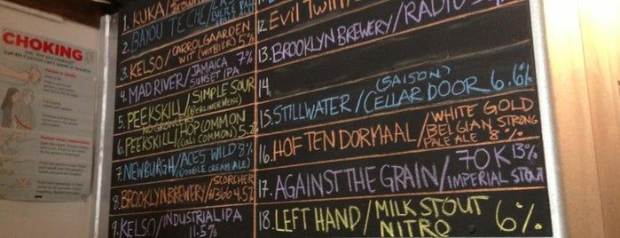 The Sampler is one of The 15 Best Places with a Large Beer List in Brooklyn.