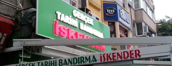 Gerçek Tarihi Bandırma İskender (İsmail Usta) is one of yemeicmeturizm.