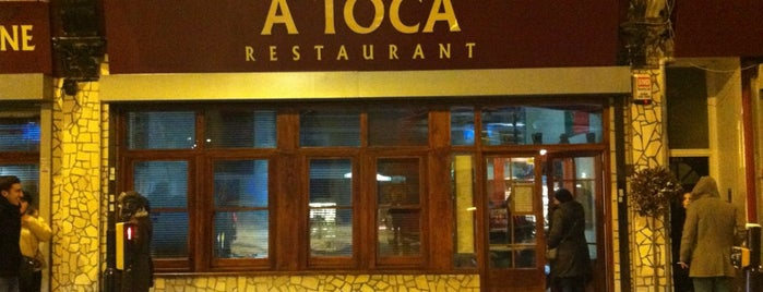 A Toca is one of London restaurant.