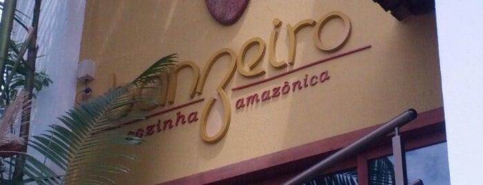 Banzeiro Cozinha Amazônica is one of Nhame, nhame.