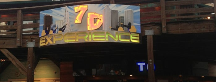 7D Experience is one of San Fracisco.