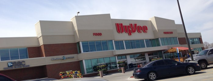 Hy-Vee is one of Most visited.