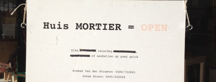 Huis Mortier is one of To-Do in Ghent.