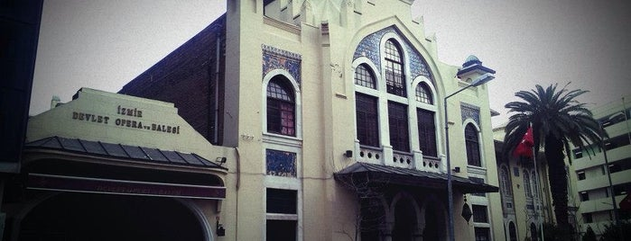 İzmir Devlet Opera ve Balesi is one of Özledikçe gideyim - İzmir.