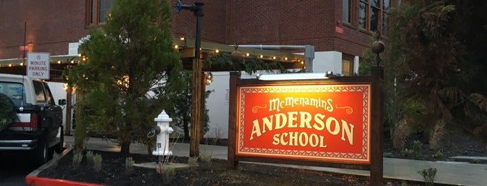 McMenamins Anderson School is one of French dips.
