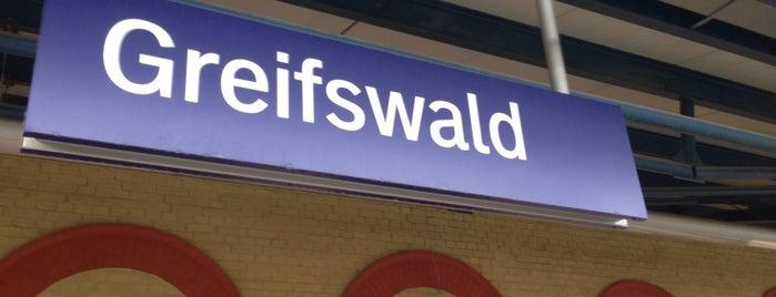 Bahnhof Greifswald is one of Bahnhöfe Deutschland.