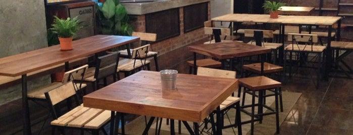 Wood & Steel Cafè / Gallery is one of Coffee.