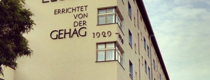 Wohnstadt Carl Legien is one of Berlin.