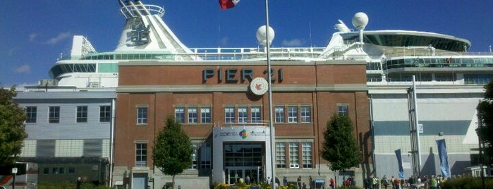 Pier 21 is one of Halifax, NS.