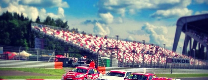 Moscow Raceway is one of Sport Spots.