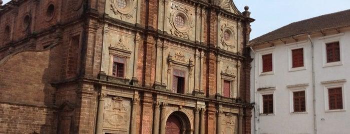 Goa velha is one of UNESCO World Heritage Sites (Asia).
