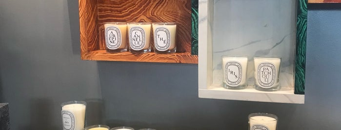 Diptyque is one of NYC Best Shops.