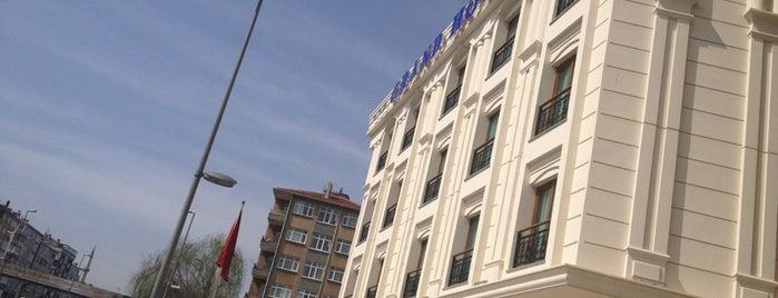 Grand Hotel Avcılar is one of Temmuz 7 2017.