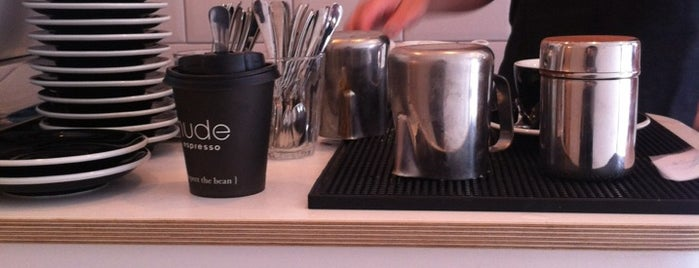 GuardianCoffee by Nude Espresso is one of London's Best Coffee.