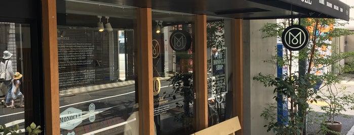 The Monocle Shop Tomigaya is one of Tokyo.